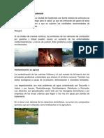 Contaminación en Guatemala