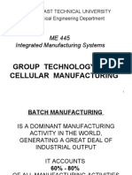 Ch6 Group Technology and Cellular Manufacturing