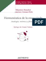 Hermenéutica de La Encrucijada. Analogía, Retórica y Filosofía