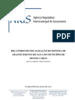 Relatório de Fiscalização ARIS - 2012