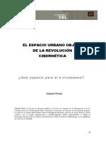 EL ESPACIO URBANO OBJETO DE LA REVOLUCIÓN CIBERNÉTICA_Gabriel Peries