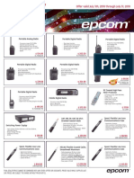 Epcom Dealers Gold Radios