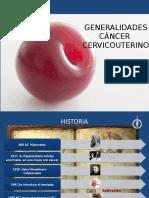 Generalidades CA de Cevico Uterino