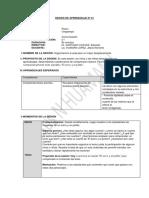 SESIÓN DE APRENDIZAJE Nº 01 comunicacion educacion rural.docx