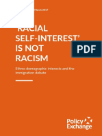 Racial Self Interest is Not Racism