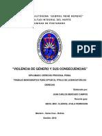 Monografia Sobre Violencia de Género Cdddd