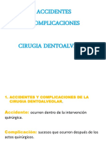 Accidentes y Complicaciones