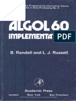 Randell ALGOL 60 Implementation 1964