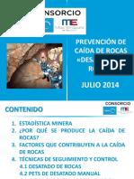 Prevención de Caída de Rocas 3