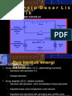 3. Penyediaan  listrik