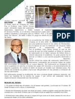 Concepto Del Futsal