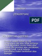 Powerpoint Sampah. Kesling