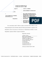 Relator's Memorandum in Opposition to Respondents' Discovery Motion