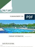 Aquatic Facility ManagementUSA MANAGEMENT COM