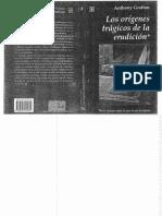 F Grafton, Anthony - Los Orígenes Trágicos de La Erudición Cap 2