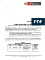 970.a Monitoreo de Calidad Del Agua