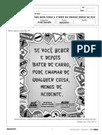 Resolucao Desafio 1serie EM Portugues 120518