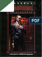 Clanbook Giovanni (1st Edition) 1997 WW2063