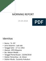Morning Report 5