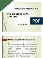 Mantenimiento Predictivo - J. Vara