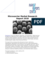 Microcarrier Market Research Report 2018