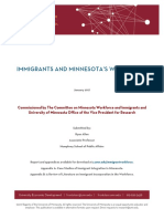 OVPR Immigrant Workforce Development Report