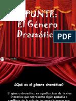 EL GENERO DRAMATICO