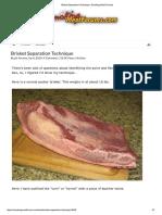 Brisket Separation Technique _ Smoking Meat Forums