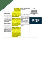 Cronograma Actividad de Aprendizaje 3 Fase Analisis.