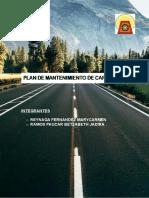 Plan de Mantenimiento vial
