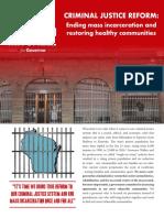 Mahlon Mitchell - Ending Mass Incarceration and Restoring Healthy Communities