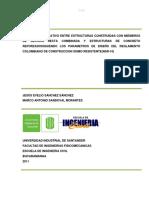 Analisis Comparativo de Estructuras