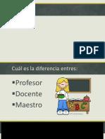 La Docencia - Colegio Luis Mariano