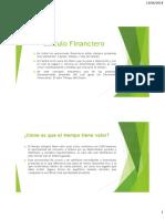 Apuntes - Calculo Financiero