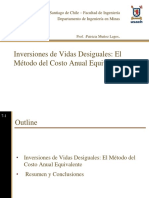 Tema 5 Inversiones de Vidas Desiguales - Metodo Cae