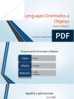 programación orientada a (objetos)