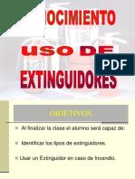 Practica Induccion Uso y Cuido de Extintores Dos