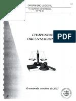 Compendio Organizacional Del Organismo Judicial