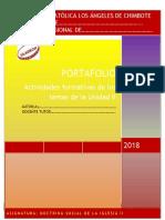Formato de Portafolio II Unidad 2018 DSI II Enviar