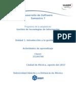 Unidad 1 Actividades de Aprendizaje DGTI