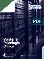 Máster en Psicología Clínica