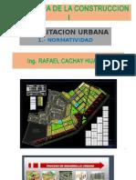 Clase 1 - 1 Normatividad - Tecnologia de La Construccion - Ing. Cachay
