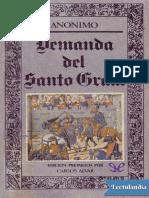 Demanda del Santo Graal - Anonimo.pdf