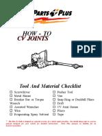Cv Joints