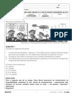 Resolucao Desafio 9ano Fund2 Portugues 031217