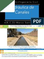 Flujo Uniforme y Energía Especifica.pdf