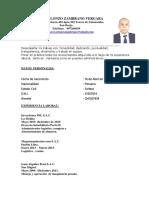 Cv Gerardo Zambrano V.
