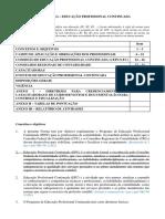 NBCPG12 Educação Profissinal Continuada