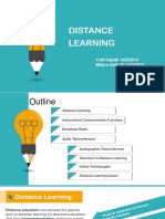 Distance Learning Ppt