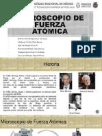 Microscopio de Fuerza Atómica.pptx Expo